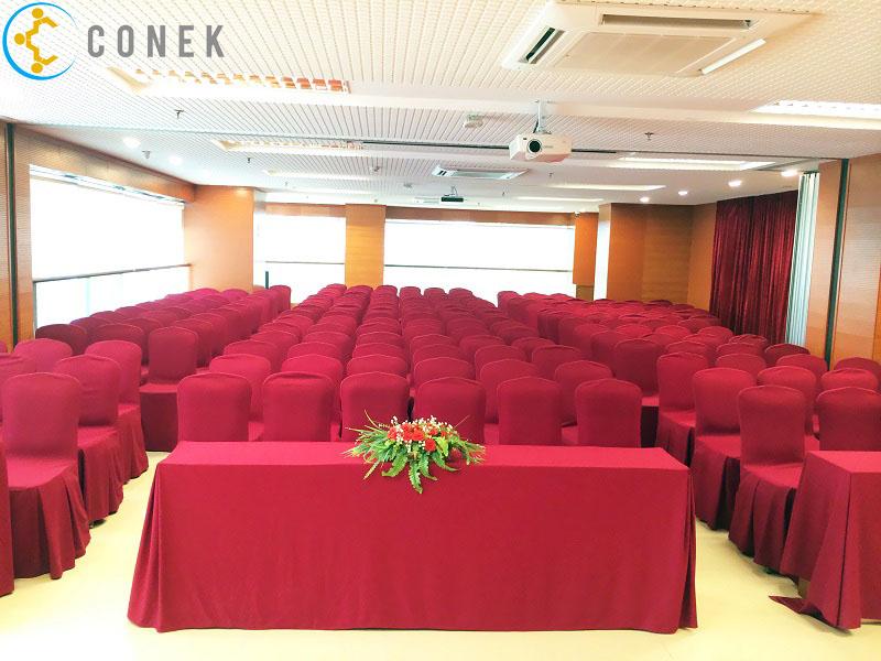 Cho thuê hội trường 300 chỗ tại Hà Nội uy tín - giá tốt | Conek