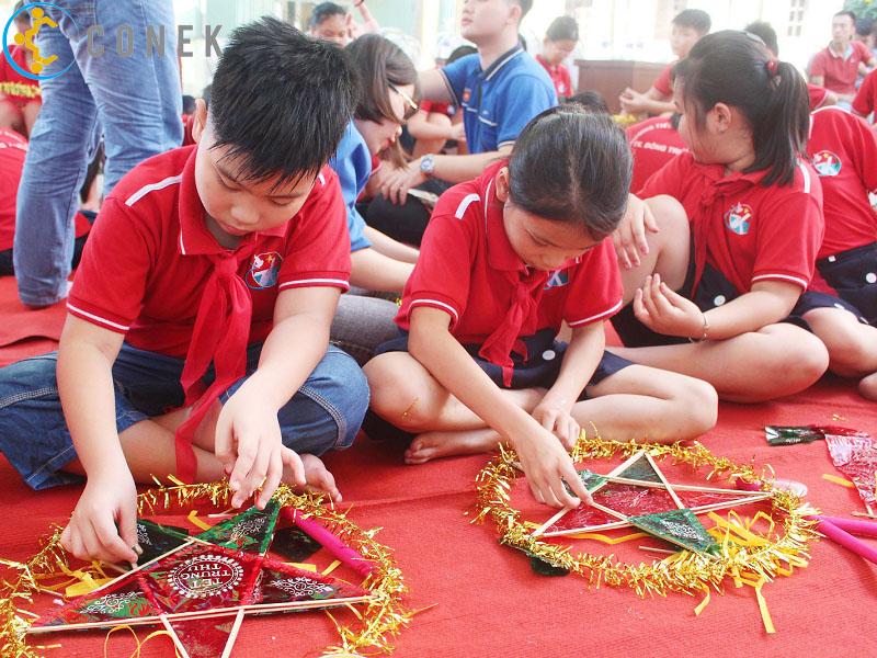 Tổ chức trung thu cho thiếu nhi giúp các bé nhớ mãi không quên