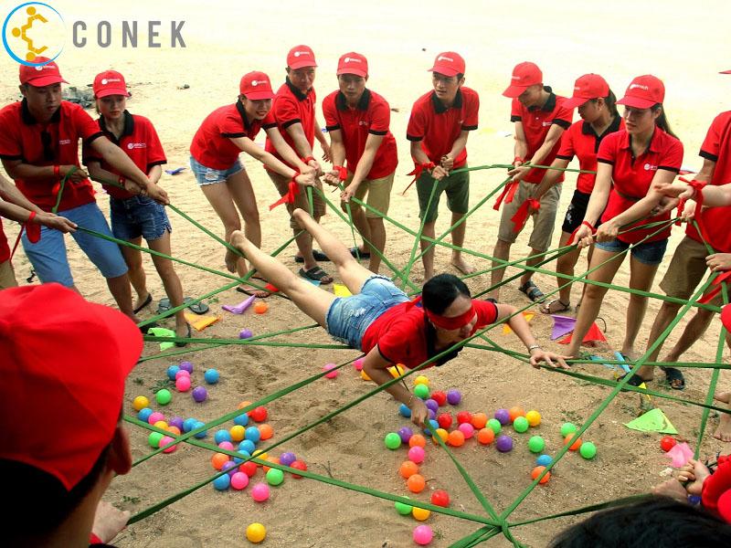 Top 5 ý tưởng tổ chức team building độc đáo và mới lạ | Conek